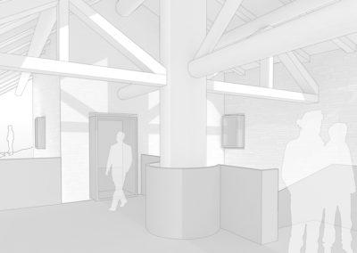 Valle Maira: Entwurf für ein Bauernhaus